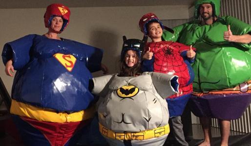 Sumo - superhelden