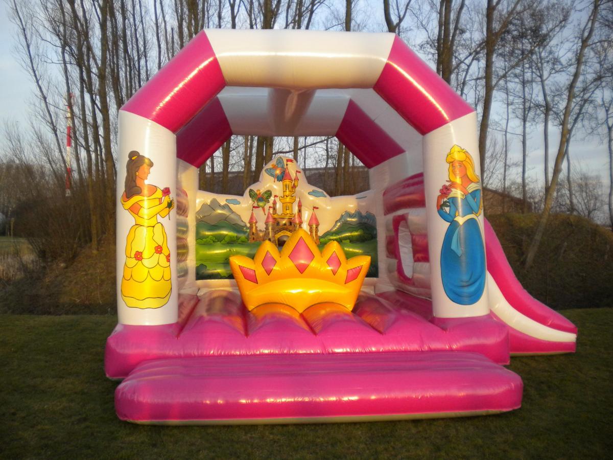 Springkasteel  u0026#39;De Prinsessen u0026#39;   Verhuur springkastelen en feestorganisatie regio Oudenburg   Bumpi